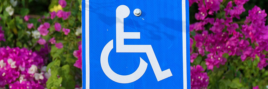 Accessible parking is available on the circle in front of the building and in the main parking lot
